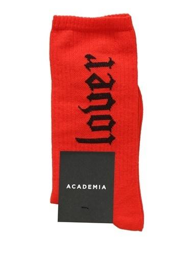 Academia Çorap Kırmızı